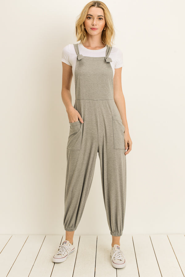 Terrycloth Overalls