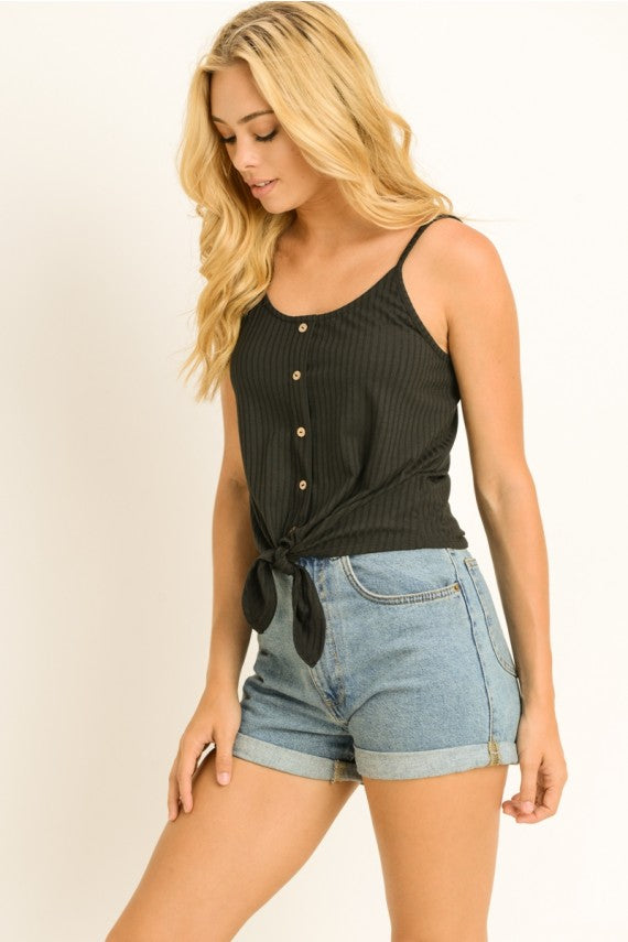 Tie Front Camisole Top