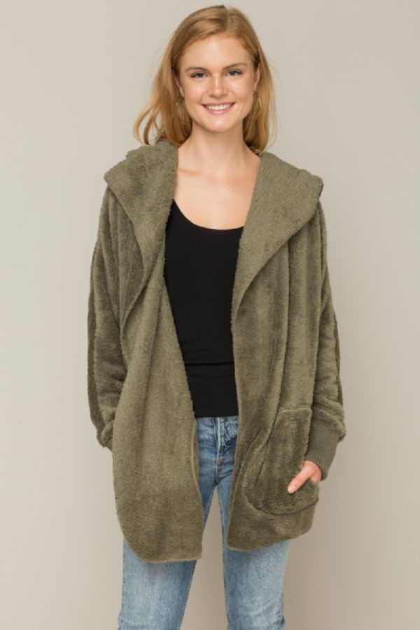 Fur Open Jacket