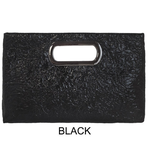 Suede Envelope Clutch