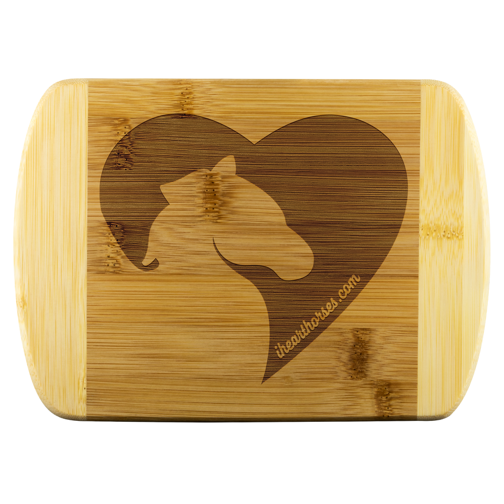 I Heart Horses Cutting Board