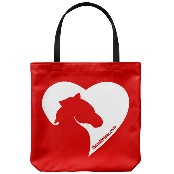 I Heart Horses Tote Bag
