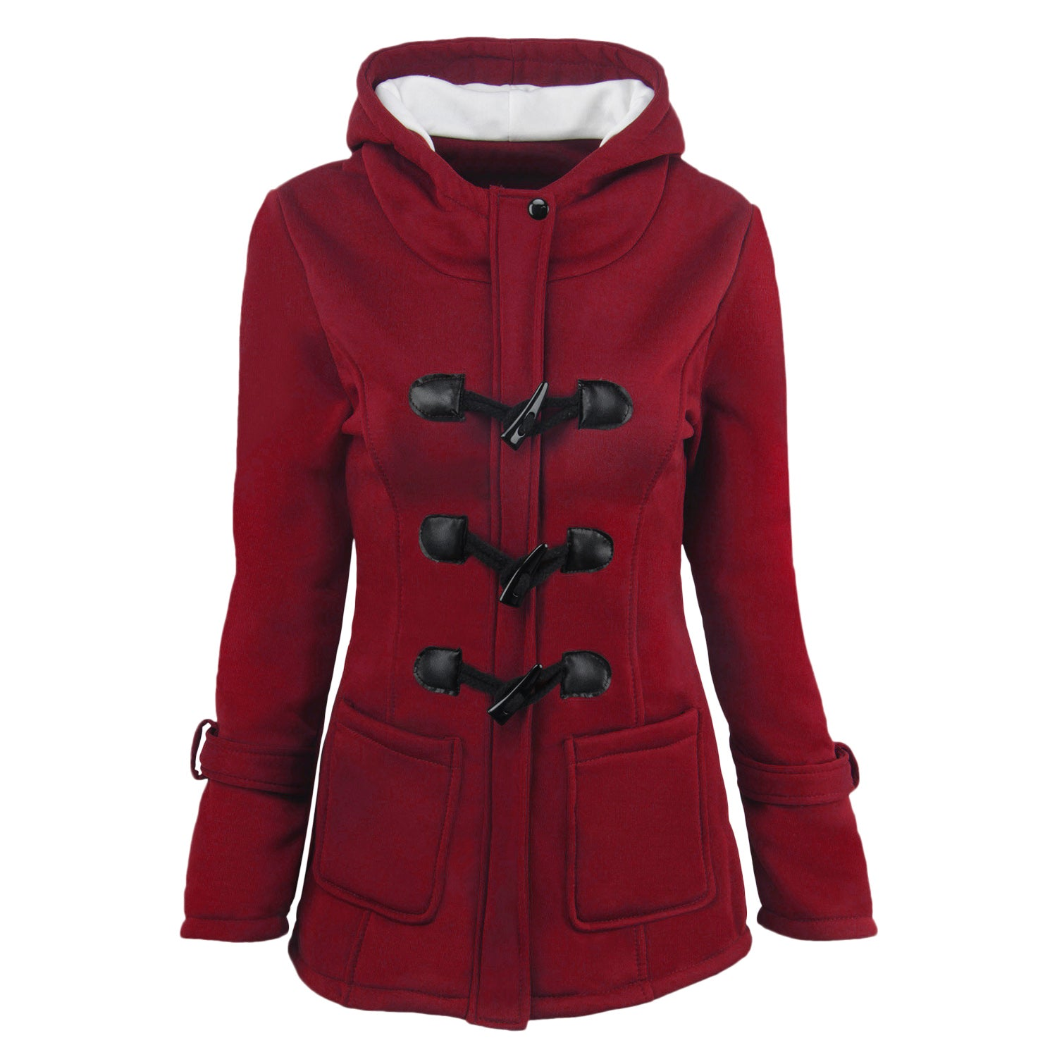 hapqeelin button women coat