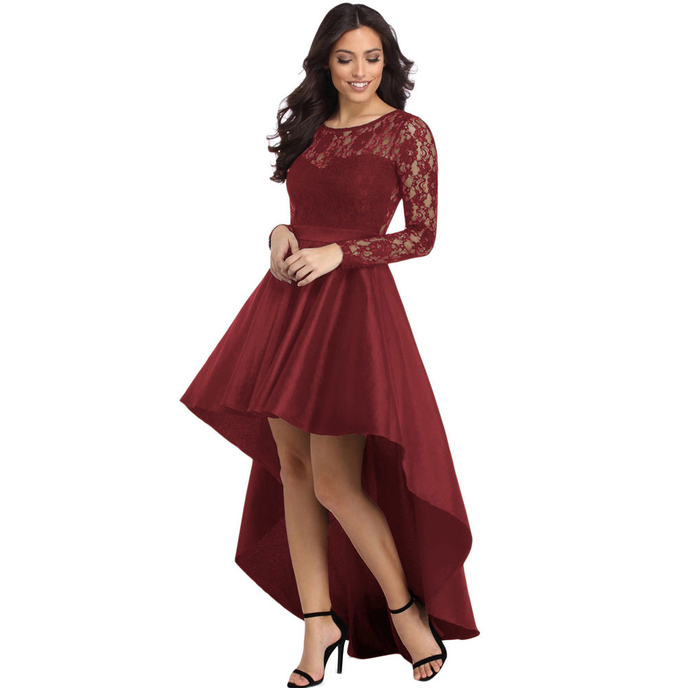 cocktail party dress-red