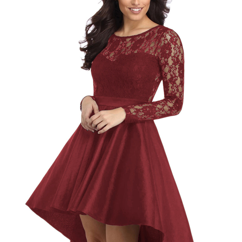 cocktail party dress - red3
