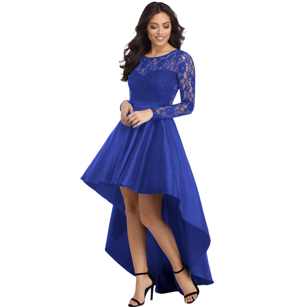 cocktail party dress- blue1