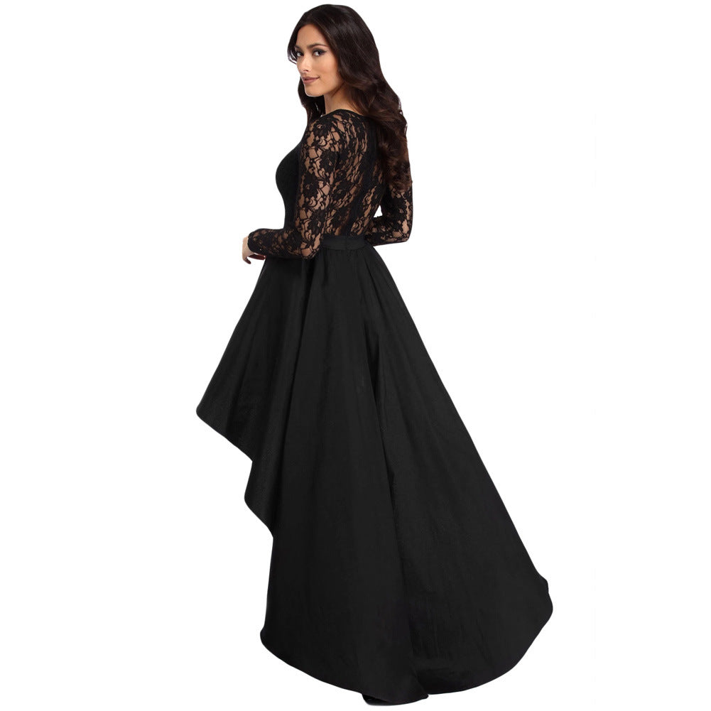 cocktail party dress - black2