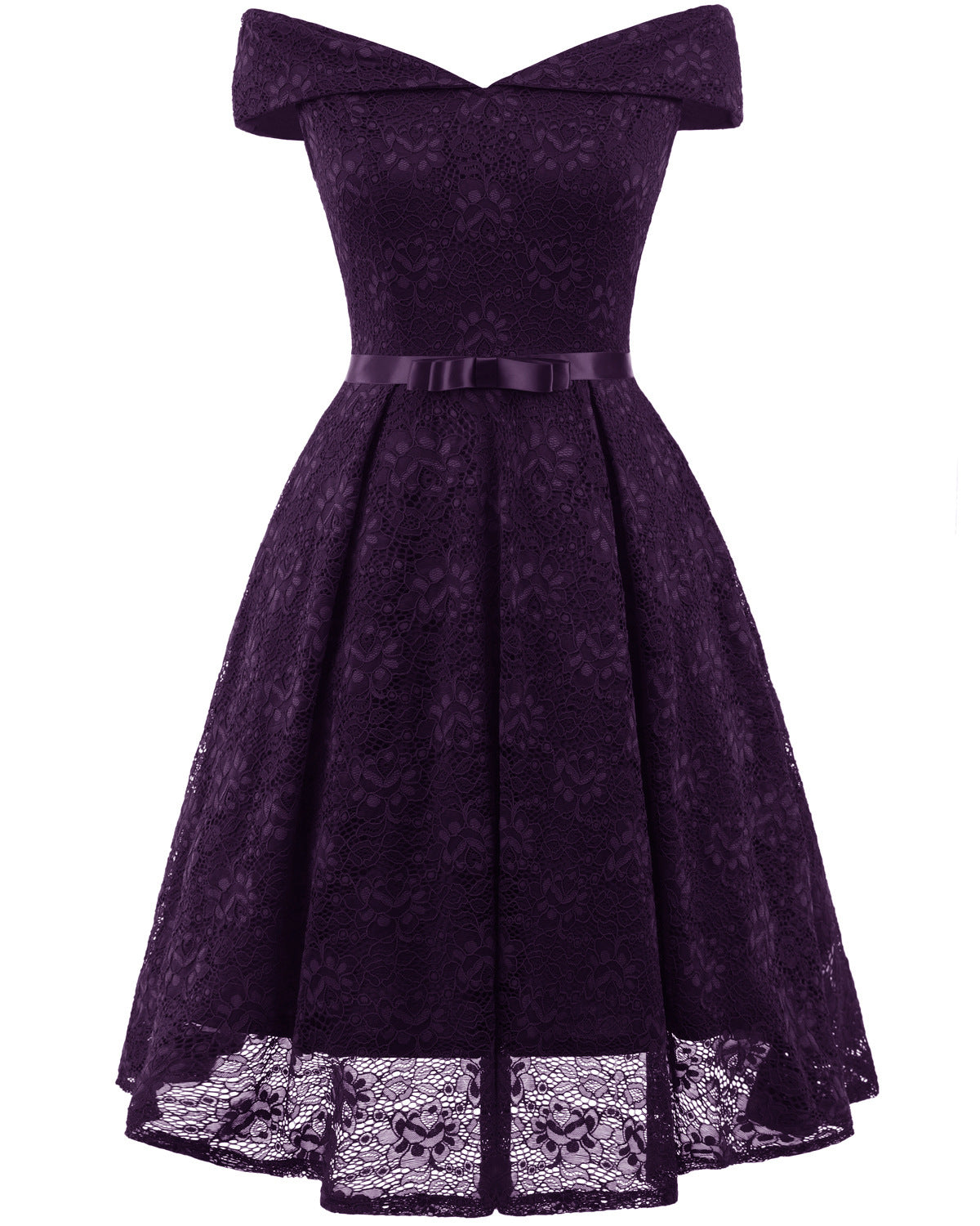 cocktail dress - purple