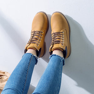 2018 Hot Winter Shoes for Women with Flat Heel