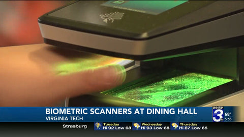 Students in Virginia Tech Can Use Biometric Scanner to Pay The Meal