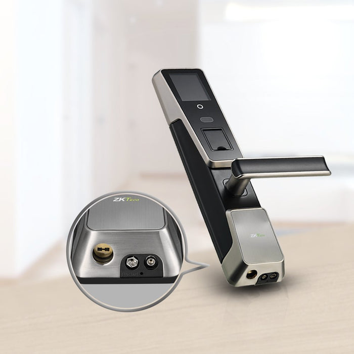Electronic Door Lock Face Recognition Keyless Door Lock Digital Touch Screen Fingerprint Biometric Locks with Rechargeable : electronic door - pezcame.com