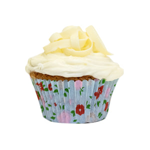 White Chocolate Chip Cupcake