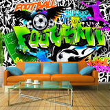 Fotomurale - Football Graffiti