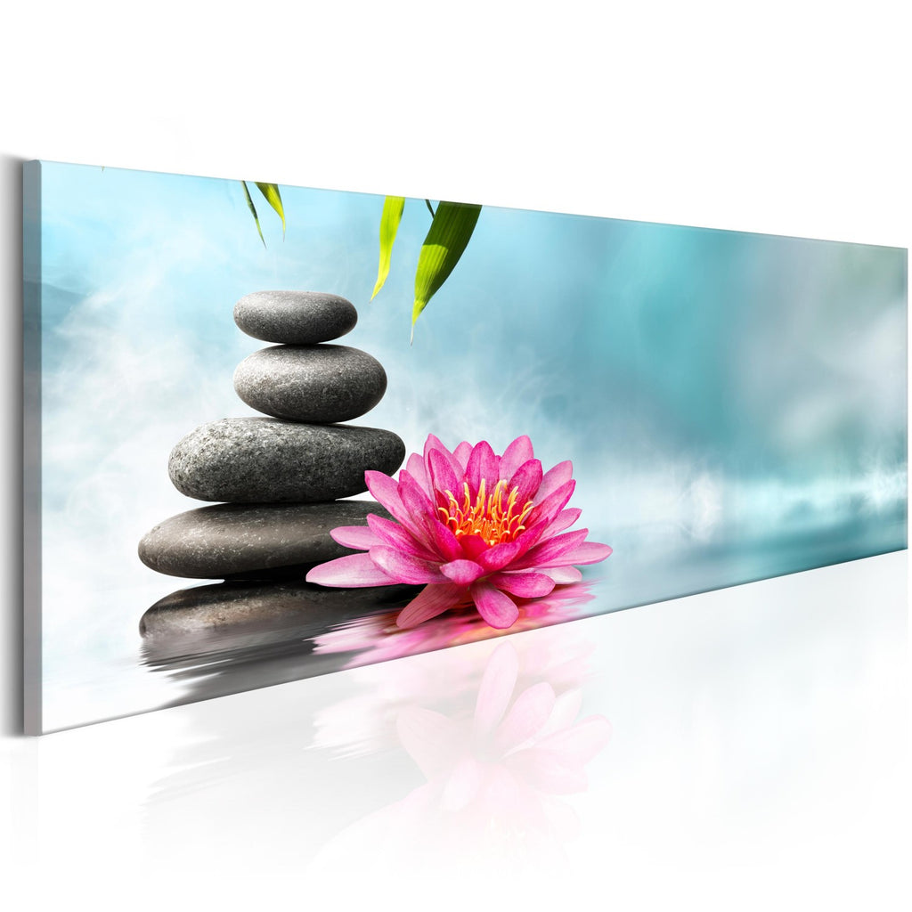 Quadro - Water Lily and Zen Stones