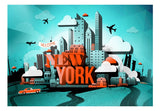 Fotomurale - Welcome New York