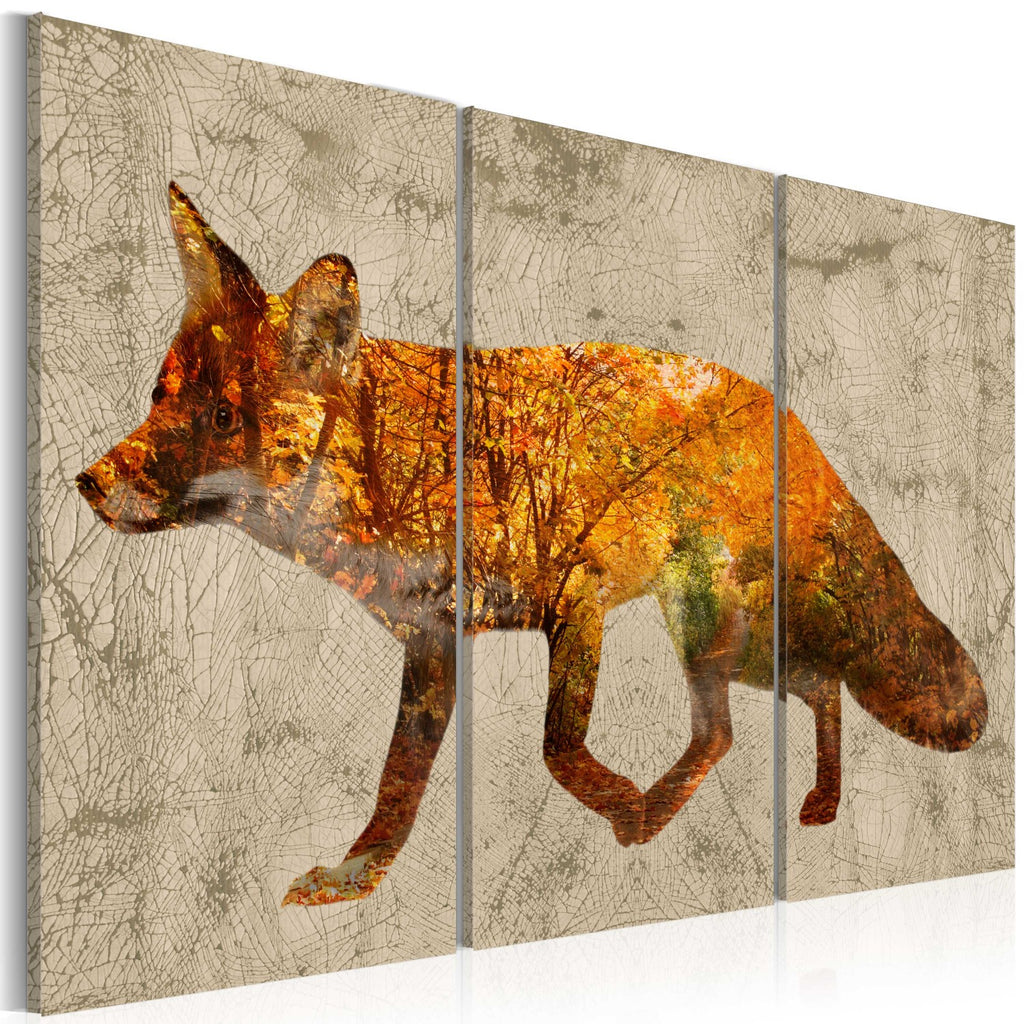 Quadro - Fox in The Wood