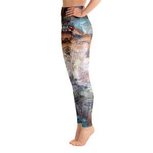 Reflection of the Self - Yoga Leggings