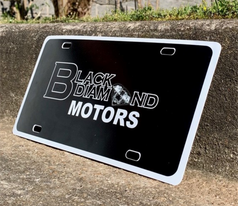 30 Gauge License Plate Insert