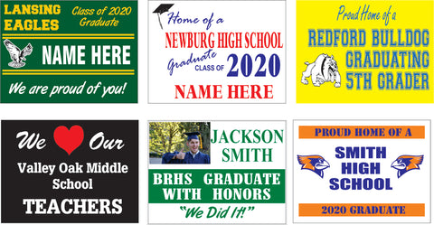 Custom Grad Signs - Individualized