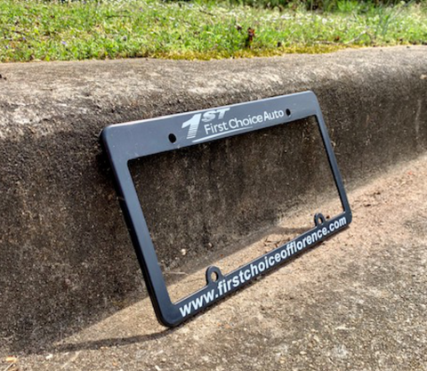 Silk Screen Molded License Plate Frames