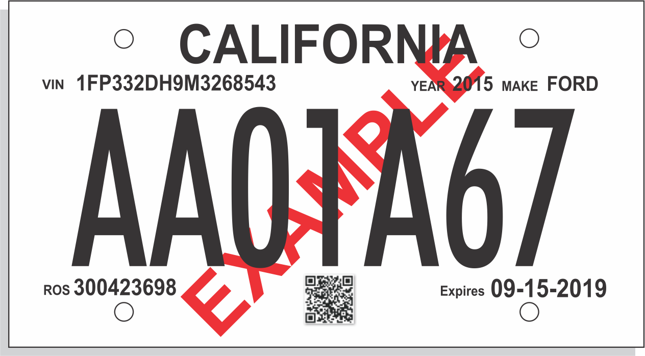 It is a photo of Printable License Plate with regard to white