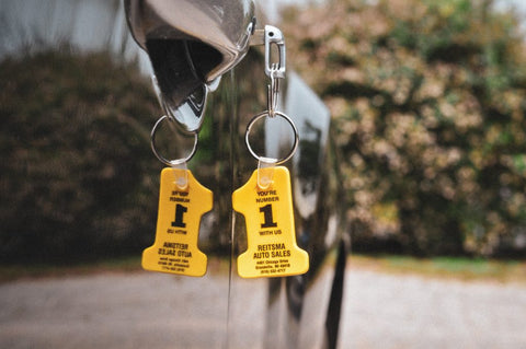 Soft Vinyl Key Tags