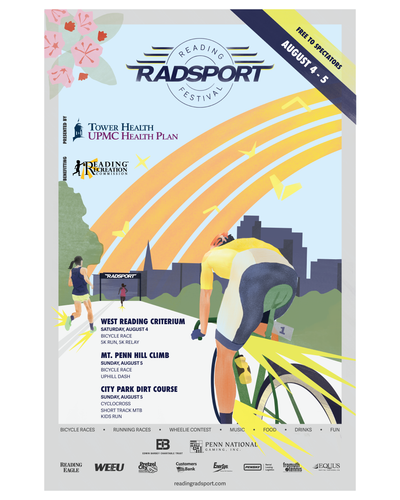 2018 Reading Radsport Festival Poster