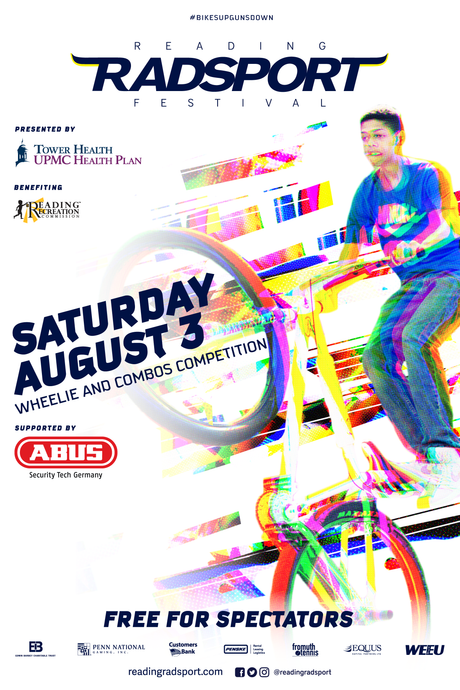 2019 Radsport Event Poster (Wheelie)