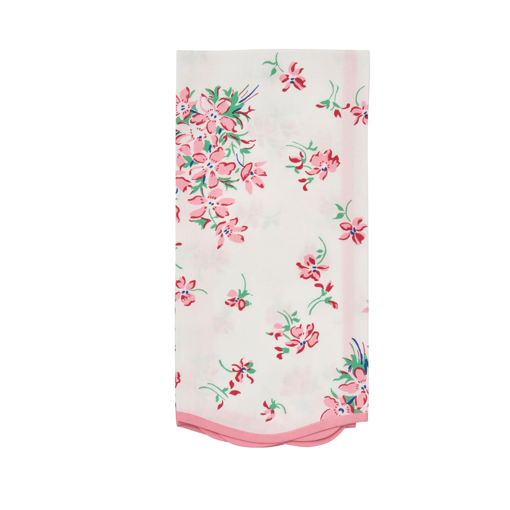Violettes pink Printed Guest Towel