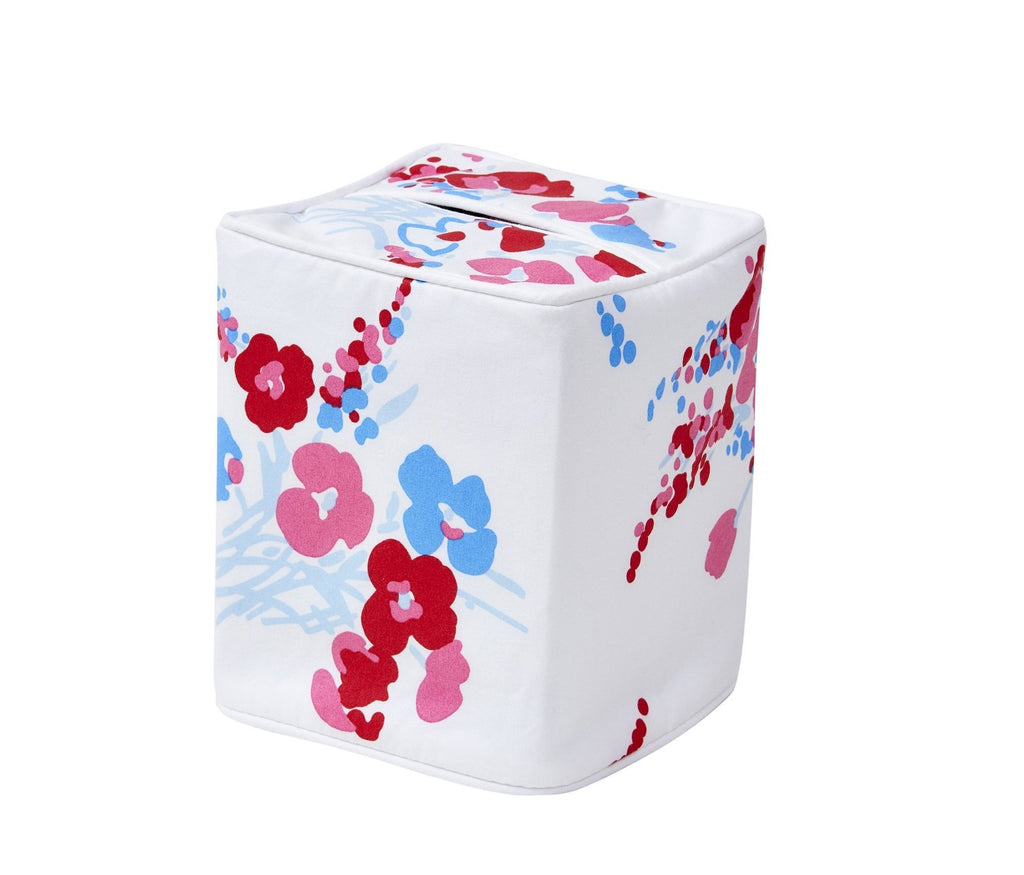 Demoiselles Red/Blue Tissue Box Cover