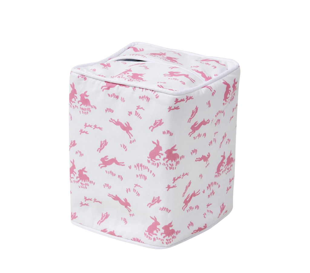 Lapins Pink Tissue Box Cover