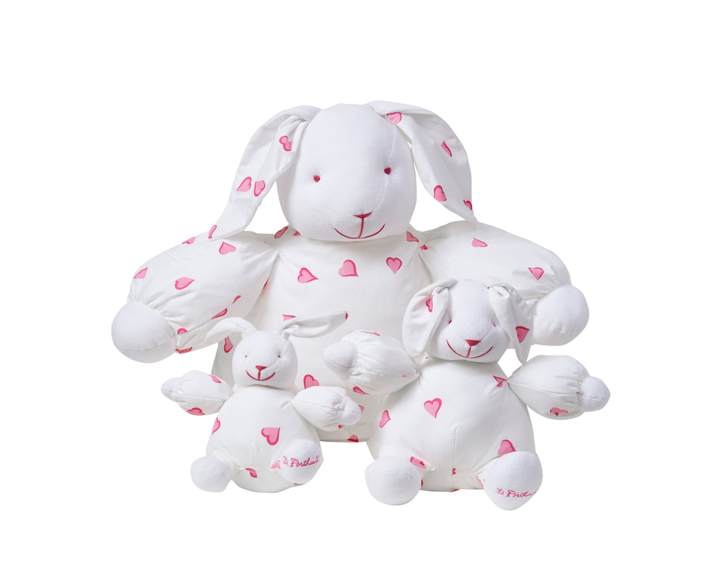 Coeurs Pink Large Bunny