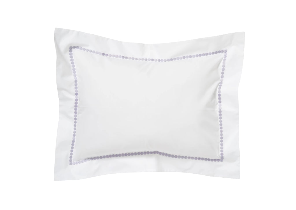 Etcetera Lilac Embroidered Bed Linens