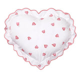 Coeurs pink Heart-Shaped Sham