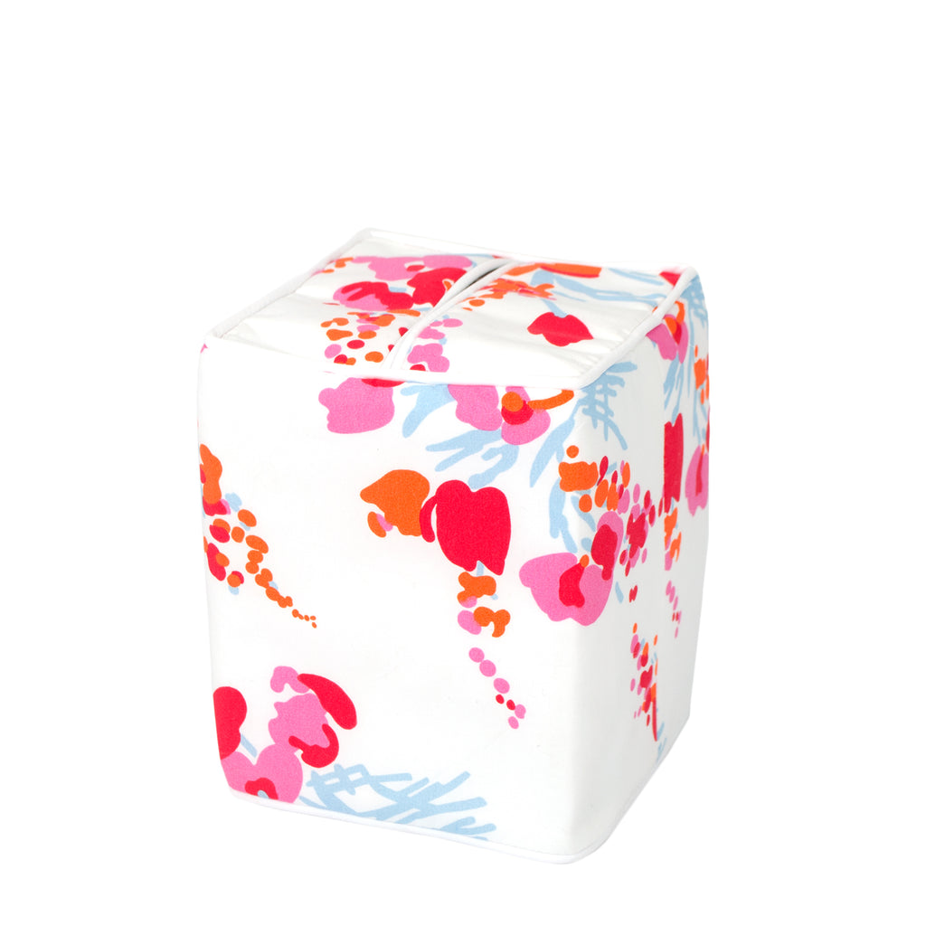 Demoiselles Pink Tissue Box Cover