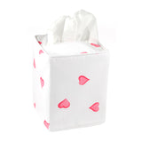 Pink Heart Tissue Box Cover