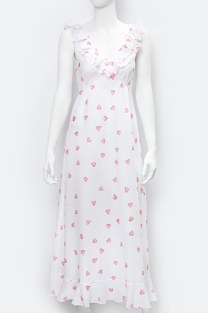 Anne-Marie Nightgown- Coeurs Pink