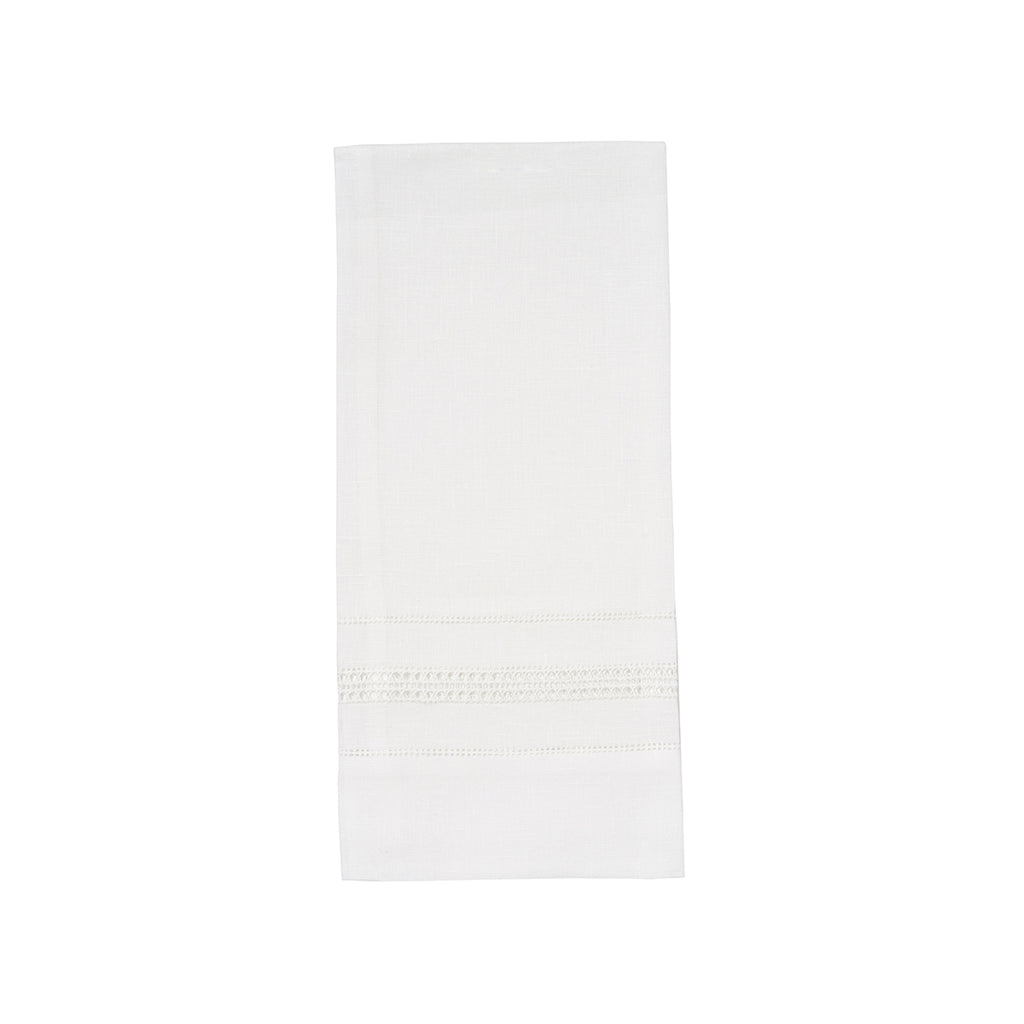 Athina White Guest Towel