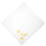 Bees Embroidered Handkerchief