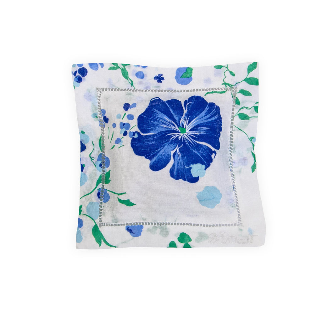 Fragrance blue Emb. Square Sachet