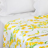 Pois de Senteur yellow Coverlet