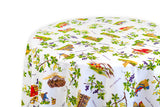 Vins de France Tablecloth