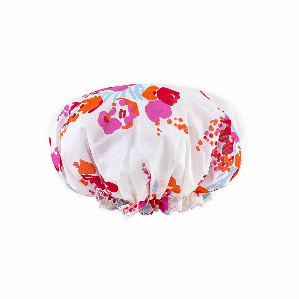 Demoiselles pink Shower cap