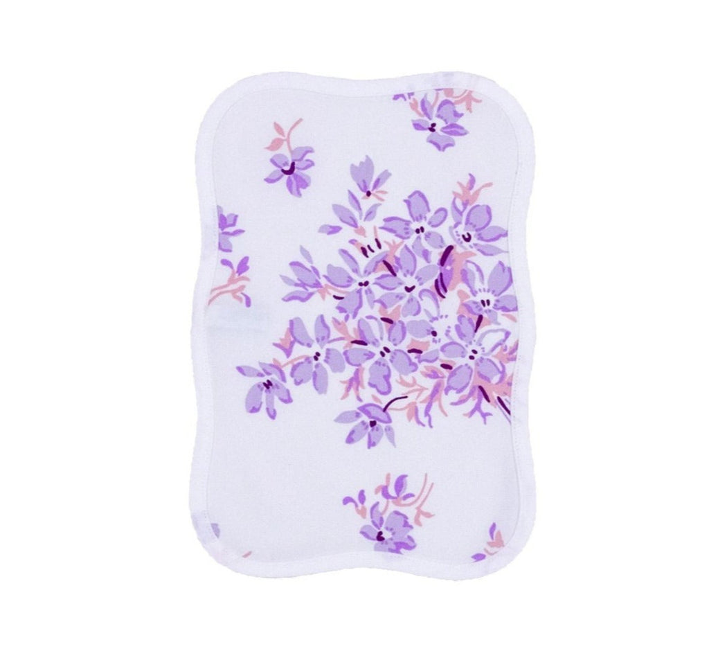 Violettes Lilac Printed Cocktail Napkin