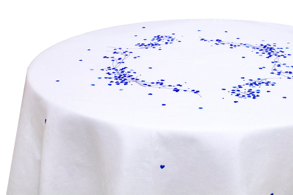 Anagramme Blue Tablecloth
