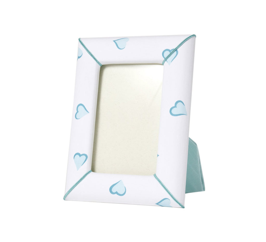 Turquoise Heart Picture Frame