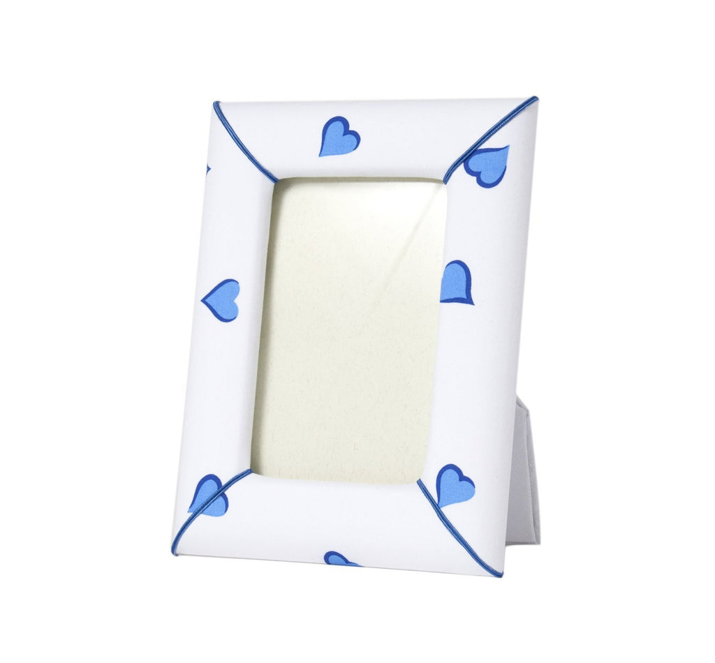 Blue Heart Picture Frame