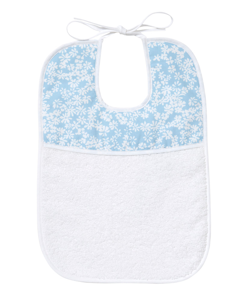 Liberty blue Printed Bibs