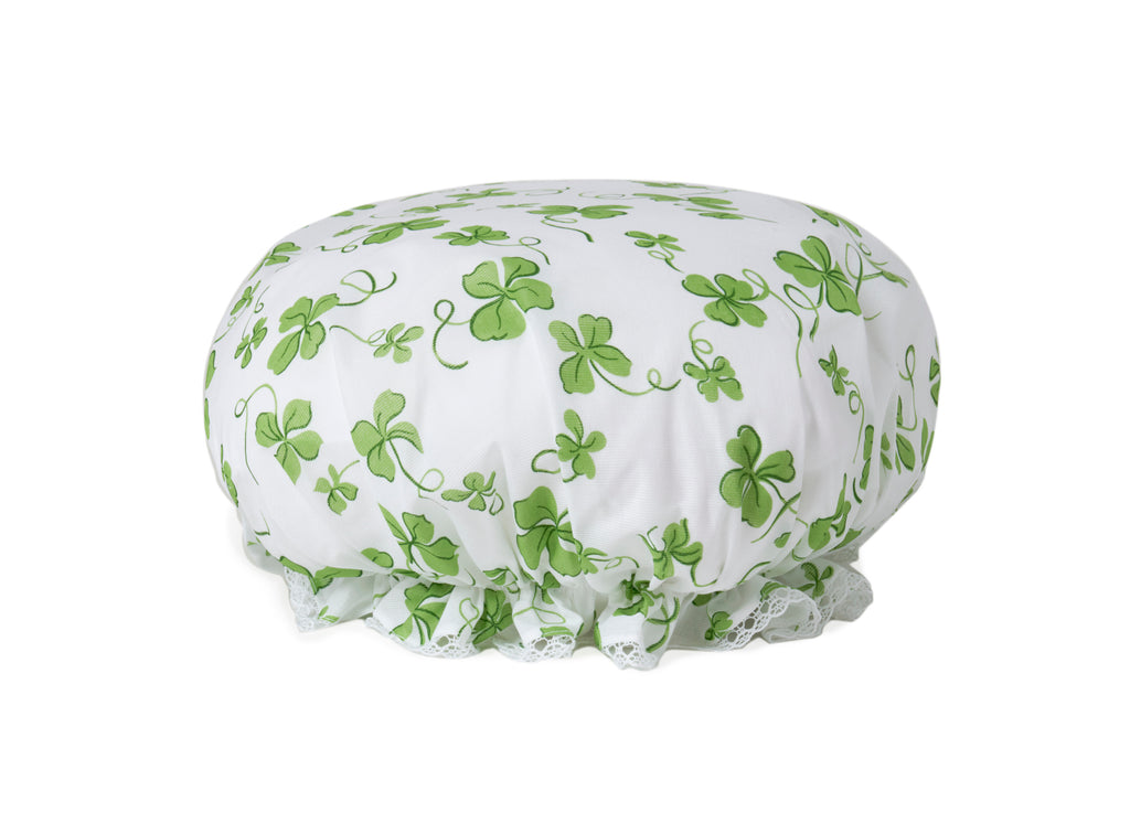Trèfles green Shower cap