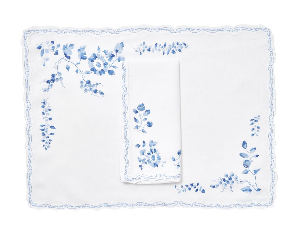 Mers de Chine Placemat/Napkin Set